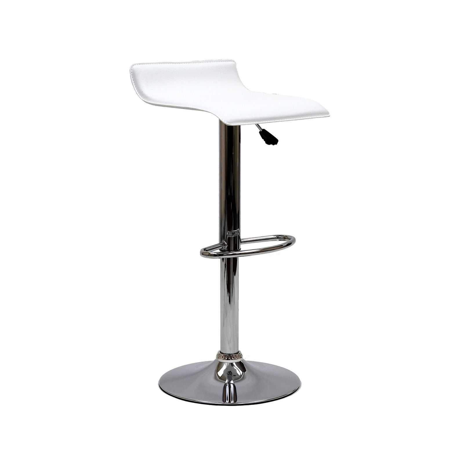The Subtle Curved Back Of Our Kacey Bar Stool Offers A