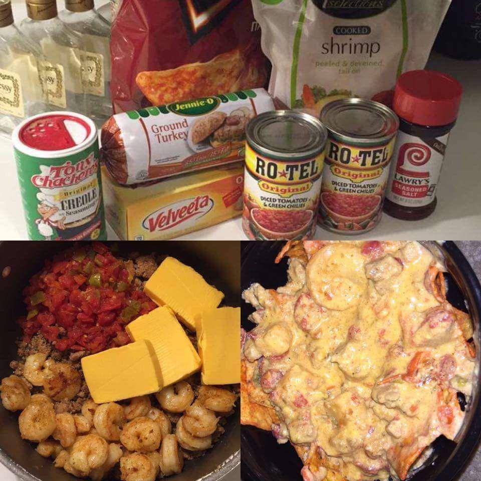Shrimp Rotel Dip Food Drink Cooking Food Recipes