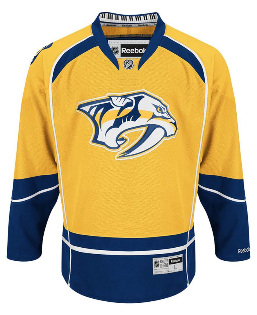 6d051ed95 Reebok Men's Nashville Predators Premier Jersey | Products | Nhl ...