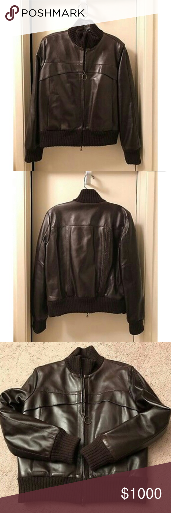 Louis Vuitton Women S Brown Leather Bomber Jacket Brown Leather Bomber Jacket Leather Bomber Jacket Leather Bomber [ 1740 x 580 Pixel ]