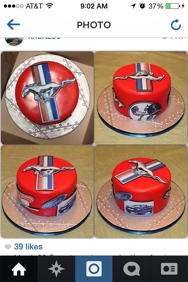 Mustang Cake Mustangs Pinterest Mustang Cake Cake