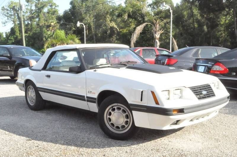 1984 Ford Mustang Ford Mustang Convertible Ford Gt Mustang
