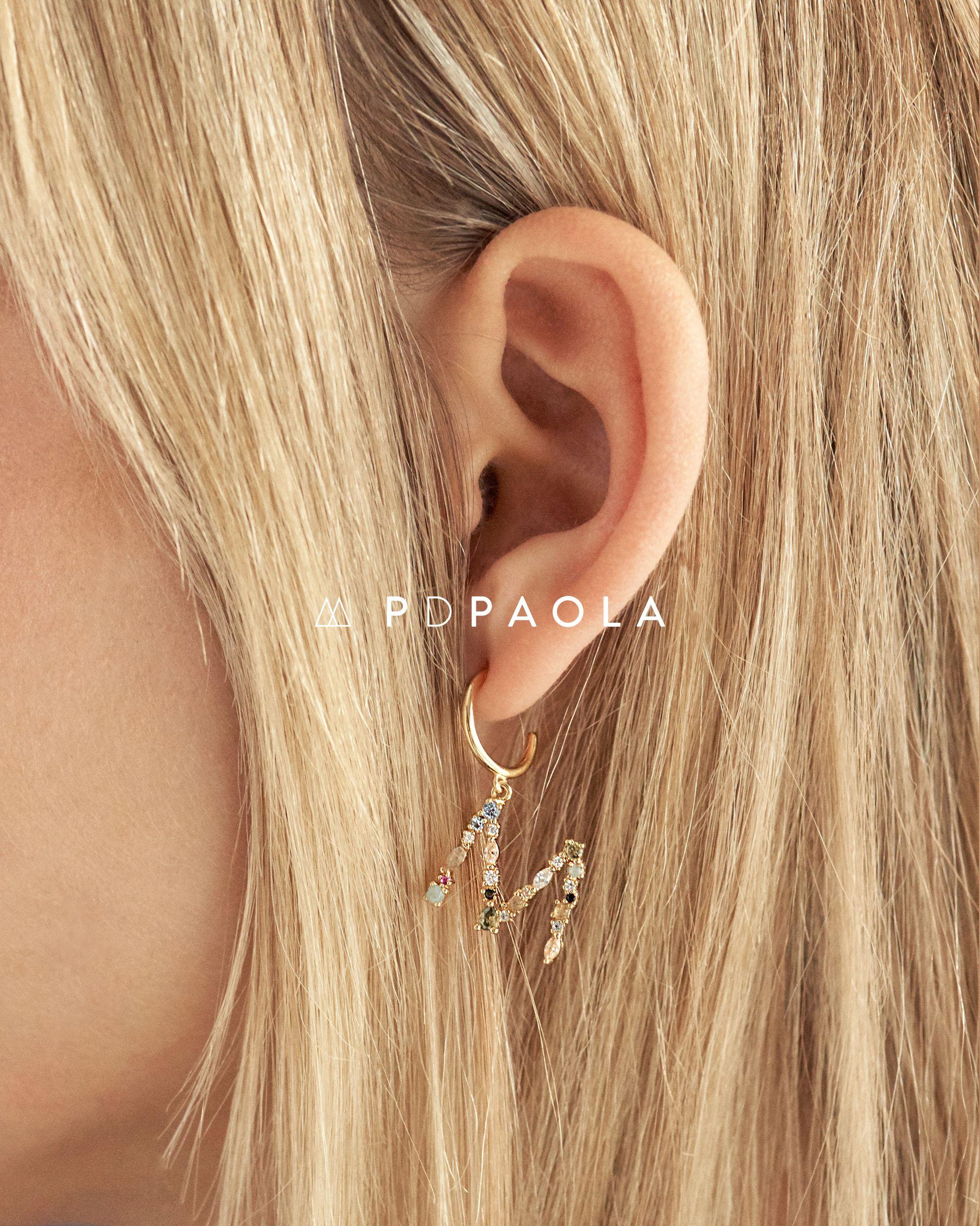 Photo of LETTERS EARRINGS