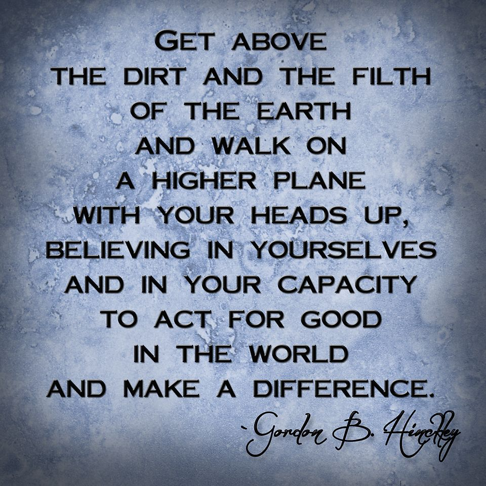 Lds missionary quotes or thoughts quotesgram - Believe In Yourself Gordonbhinkley Lds Mormon Quote Quote Picture Created By