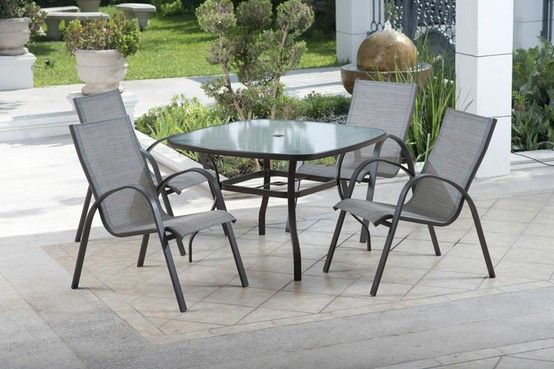 Sillas y mesa para jard n muebles para patio y jard n for Muebles de patio y jardin