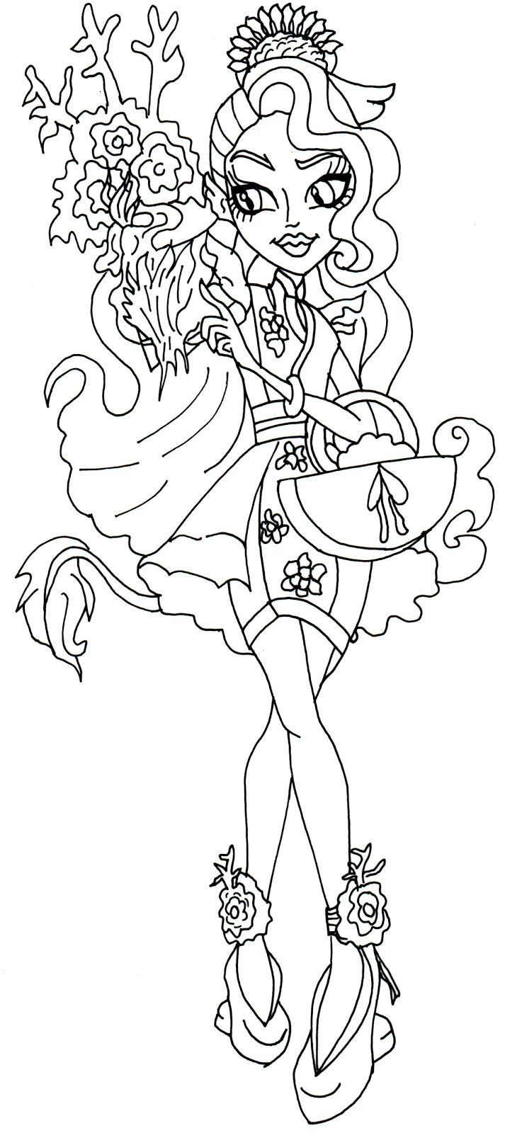 freaky fusion coloring pages - photo#17