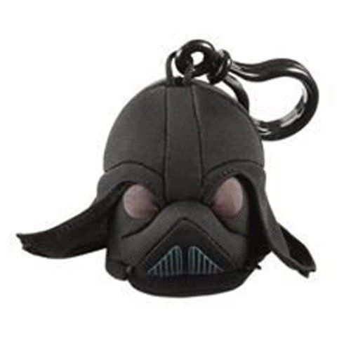 """Angry Birds Star Wars Backpack Clip Storm Trooper 3/"""" Plush Clip Keychain"""
