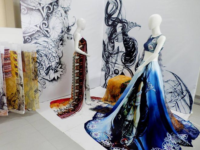 Image Result For Textile Themes Ideas | Thesis, Display, Window Display  Design