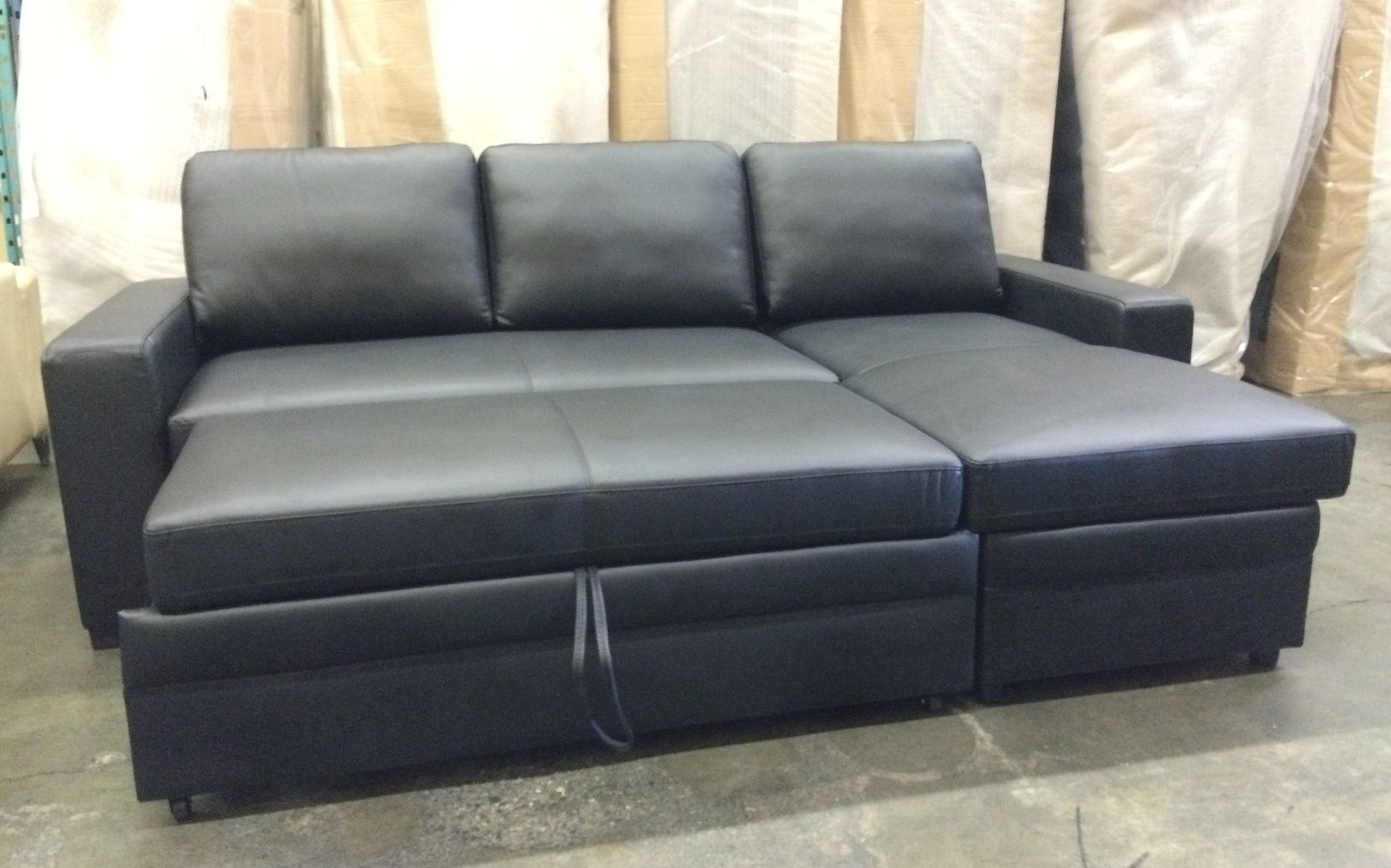 Leather Sectional Sofa Beds | Sofa | Sofa, Sectional sofa ...