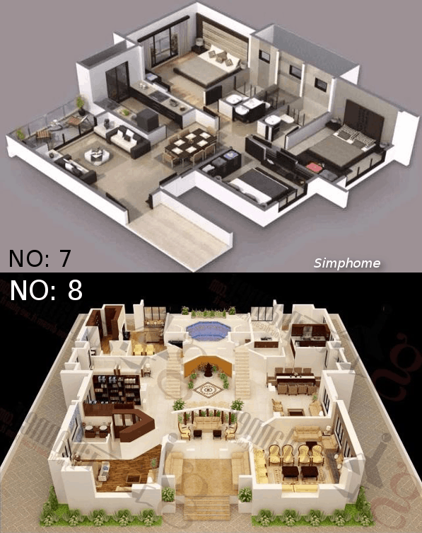 12+ Cool Concepts of How to Upgrade 4 Bedroom Modern House