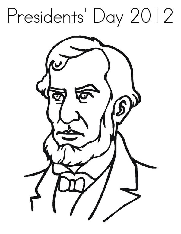 Abe Lincoln Figure On Presidents Day Coloring Page Download Print Online Coloring Pages For Abraham Lincoln Craft Coloring Pages For Kids Color Worksheets