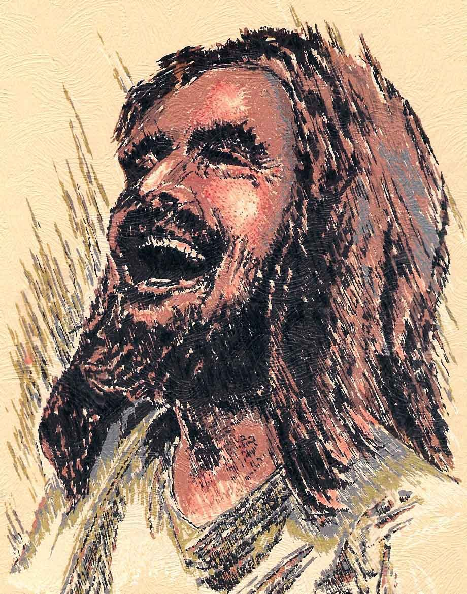 Images Of Jesus Laughing : images, jesus, laughing, Laughing_Jesus, Jesus, Laughing,, Prints,, Painting