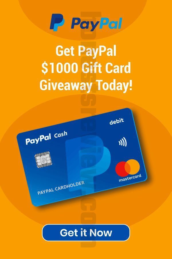 Photo of Pay-pal Free Gift Card