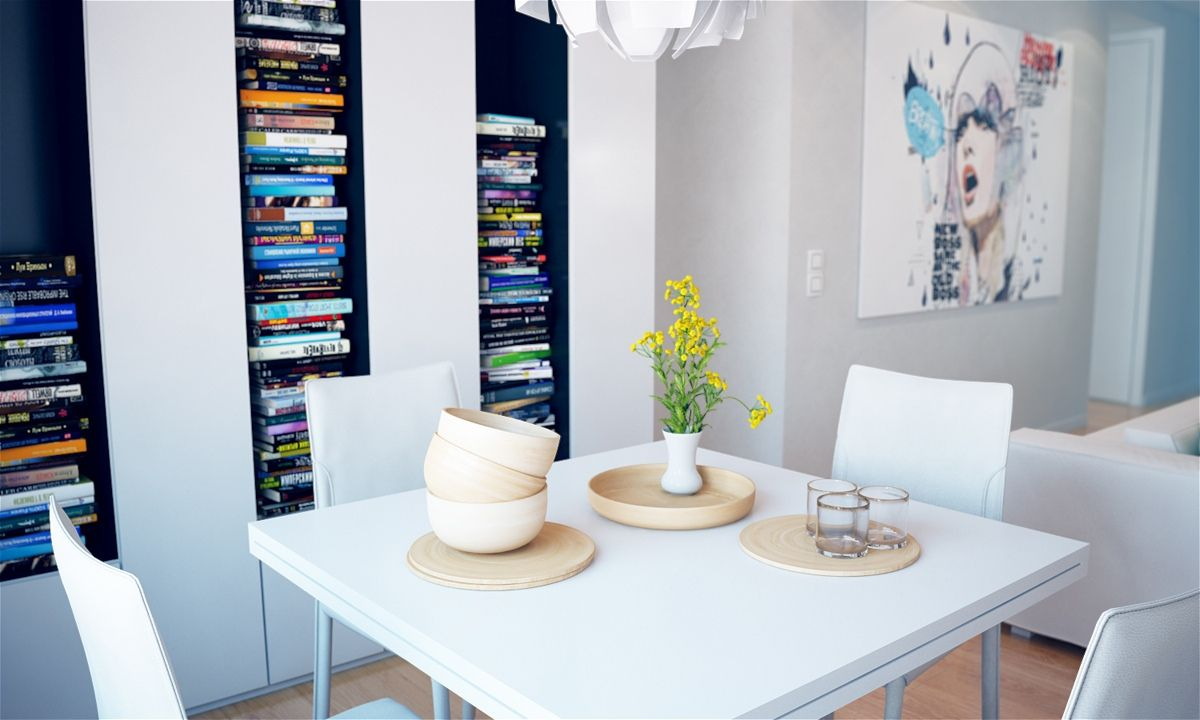 Colorful punctuation interior decorating home design room ideas