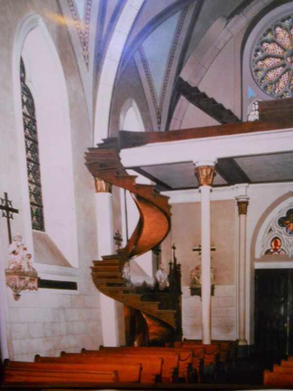 Best The Miracle Stairs The Famous Loretto Chapel Staircase 640 x 480
