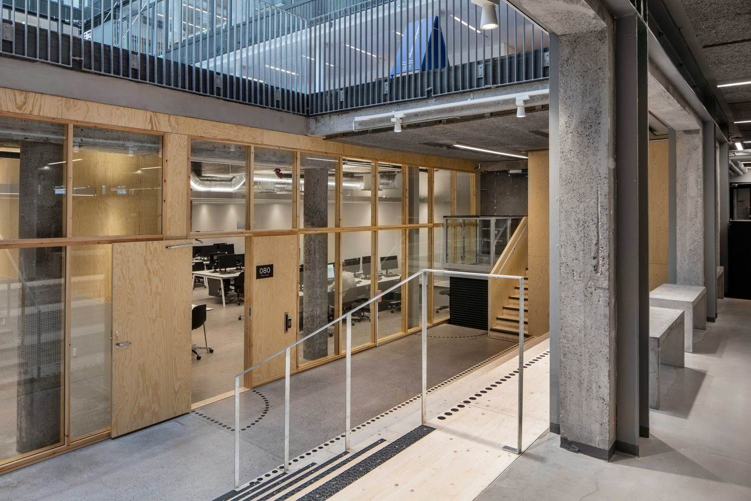 Gallery Of Chalmers Department For Architecture And Civil Engineering White Arkitekter 14 Espacios Pequenos Espacio
