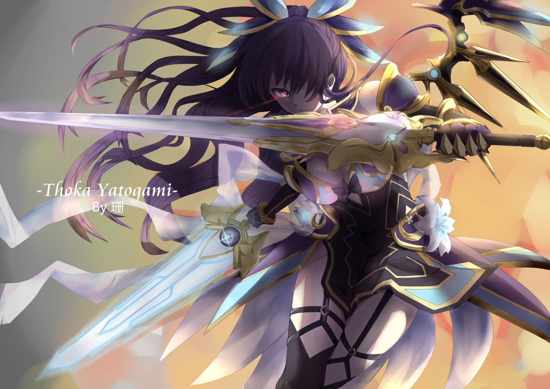 Anime Date A Live Tohka Yatogami Wallpaper