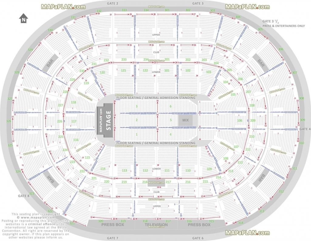 Brilliant and also Beautiful philips arena seating chart