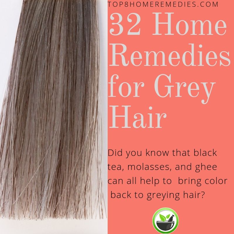 Learn how to dye grey hair with natural ingredients. | Home Remedies ...