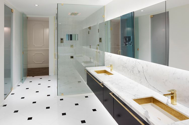Bathroom Design Miami need those gold faucets in my future bathroom | bathroom
