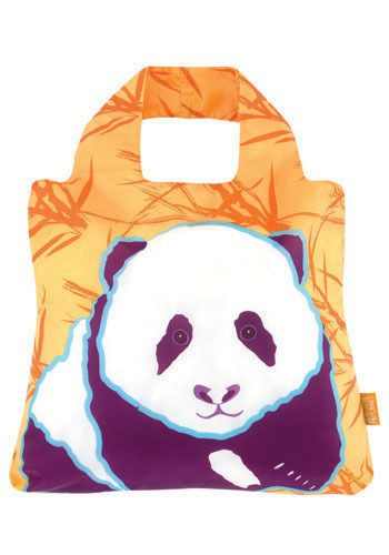 I love having cute little reusable bags in the car for grocery trips, school pick ups or just carrying everything from the day into the house. And what could be cuter than a sweet little panda?! $7.99 :)