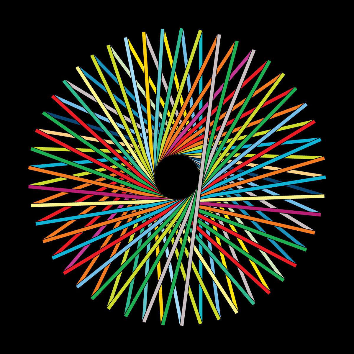 Simon C Page — Iris WIP Geometric art, Sacred geometry