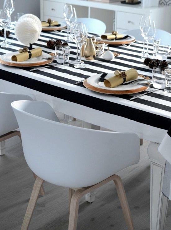 Black White u0026 Sparkle Table & Black White u0026 Sparkle Table | black | Pinterest