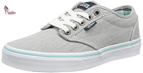 Vans Chapman Mid, Sneakers Hautes Mixte Enfant, Marron (Waxed Oak Buff/Black), 32 EU