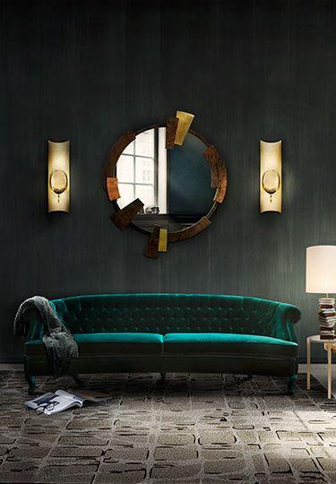 Superb Dark Green Cool Furniture Modern Home Furniture Home Creativecarmelina Interior Chair Design Creativecarmelinacom