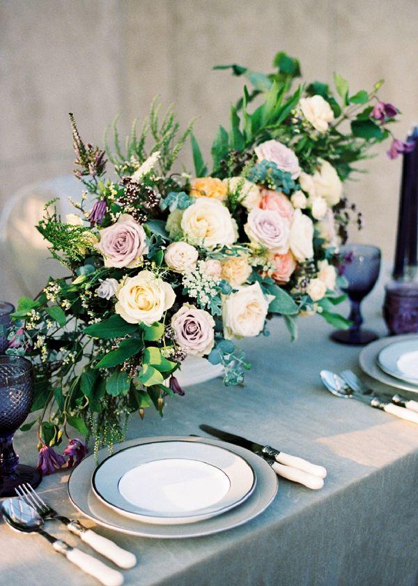 Bridal Shower Floral Centerpiece Idea | Garden Bridal Shower Inspiration By Yulia Tarasova Photography