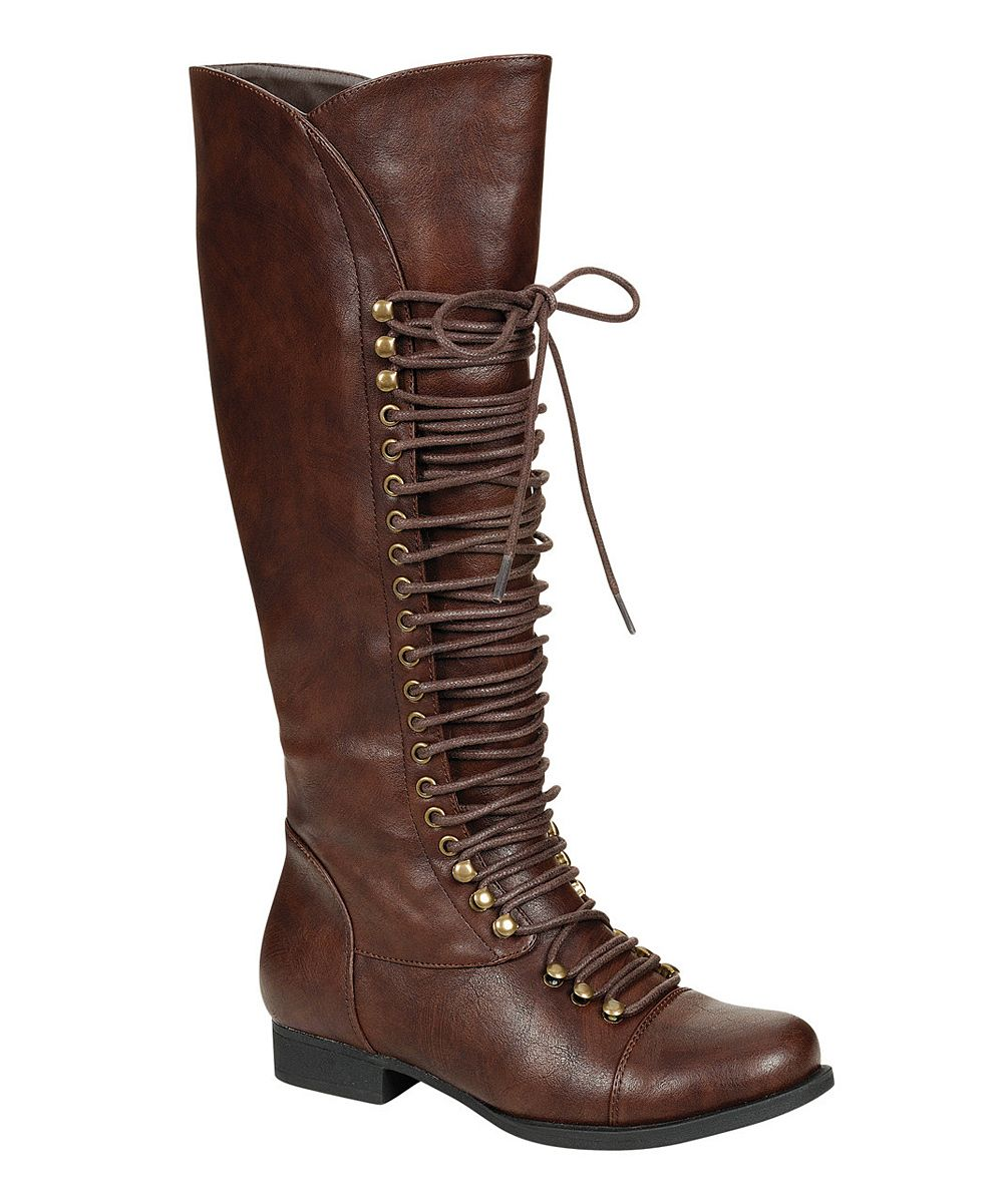 Brown High Mae Boot | Daily deals for moms, babies and kids