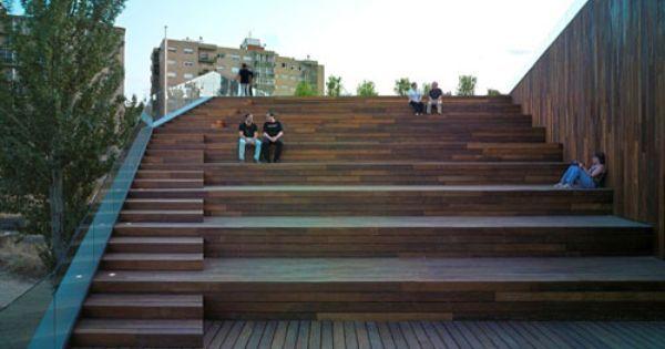 box pavillon stairs - Cerca con Google