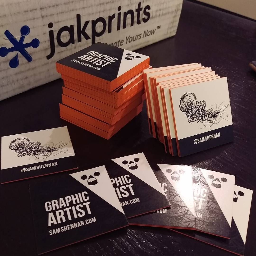 blatantpromo Stoked with my new grown up business cards from ...