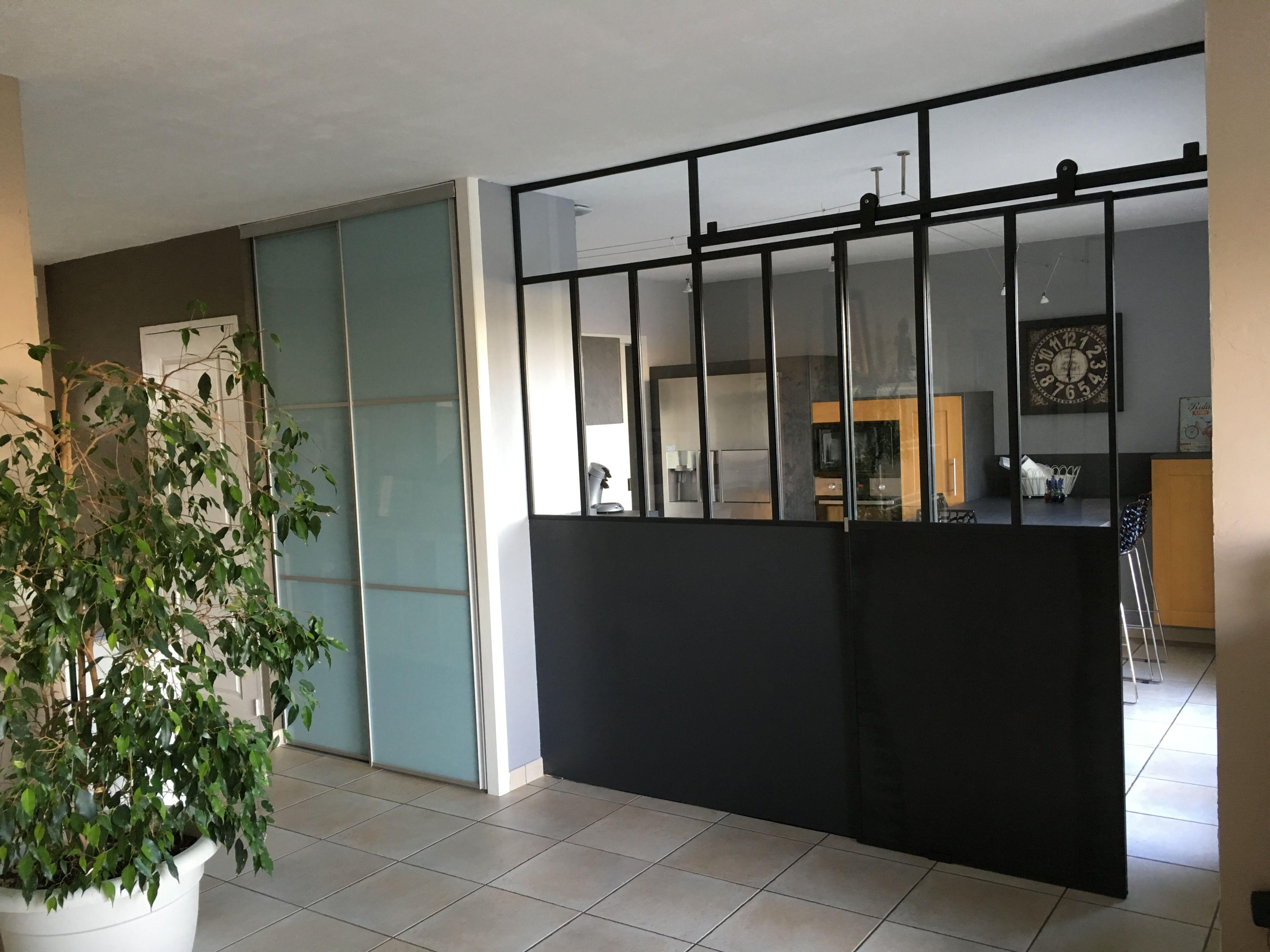 Chassis Atelier Avec Porte Coulissante