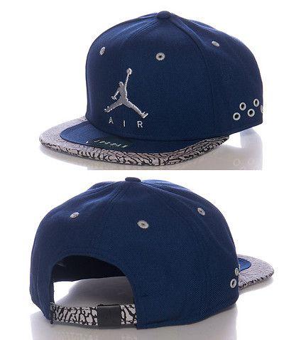 JORDAN Logo strapback cap Adjustable strap on back for comfort JORDAN  jumpman logo on front Brand stitching detail on back 09479551858