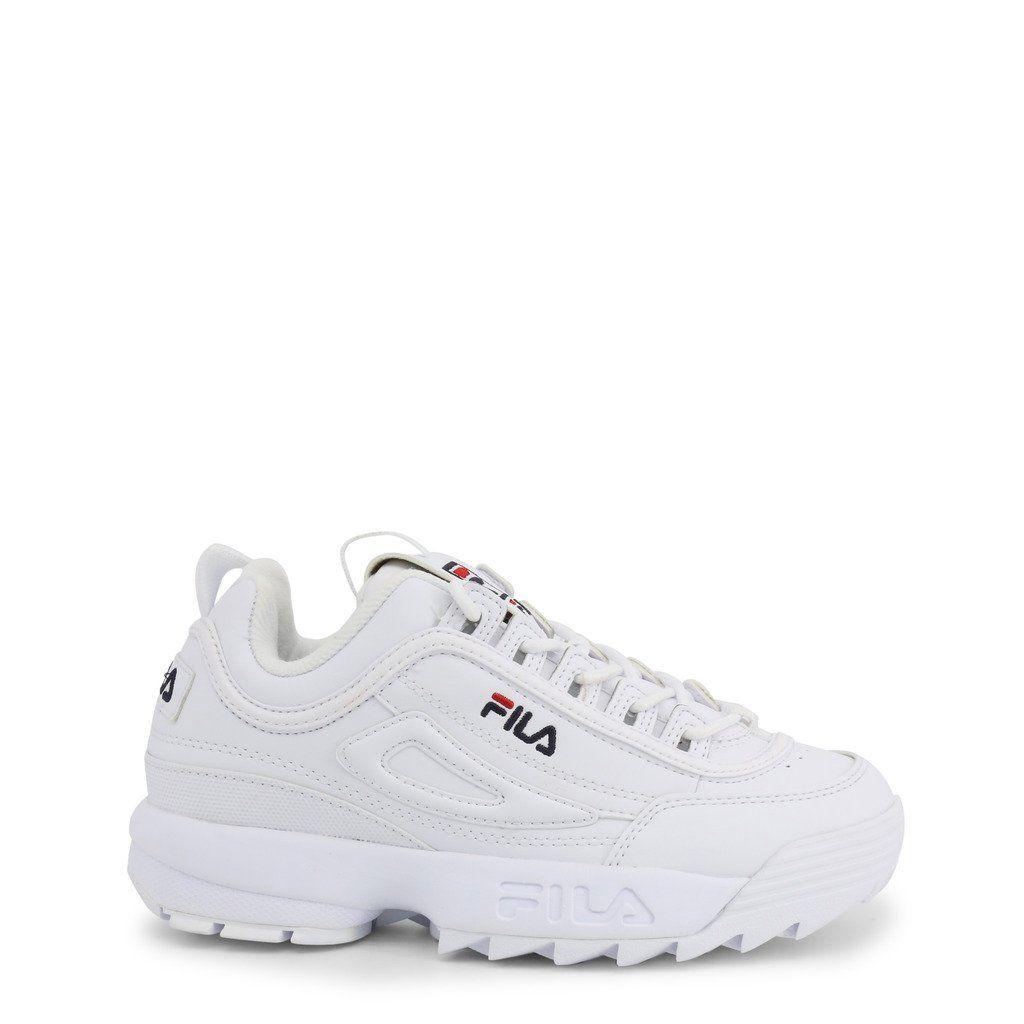 Fila DISRUPTOR LOW_1010302 in 2020 | White sneakers
