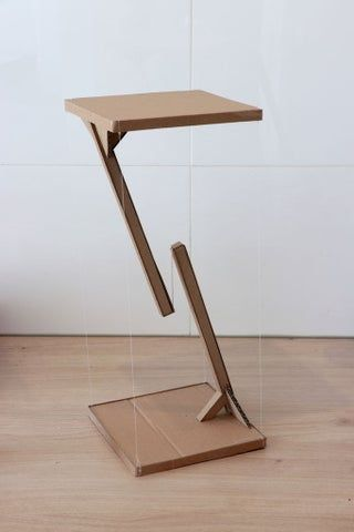 Levitating Side Table Made From Old Cardboard Boxes : 7 Steps (with Pictures) - Instructables