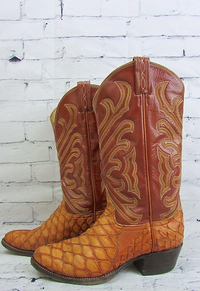 ffcbef0beb3 Tony Lama El Rey Collection #Exotic #Anteater Skin Western Cowboys ...