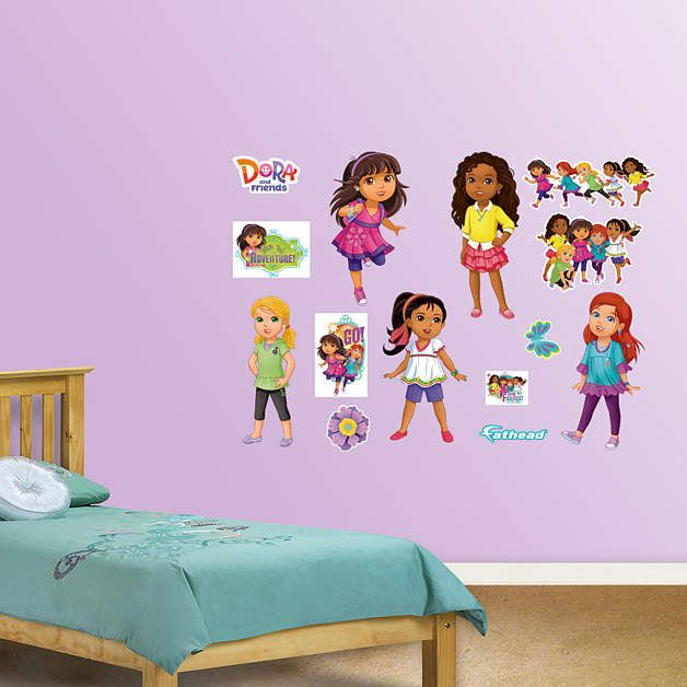 Fathead Dora And Friends Collection Decals   Wall Sticker Outlet