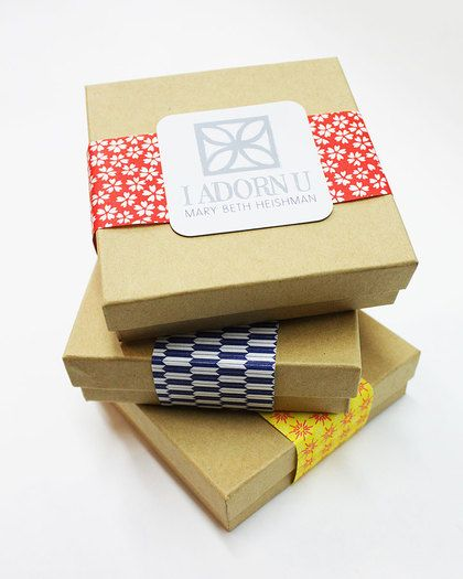 New JewelMint I ADORN U Mystery Boxes Kraft boxes Packaging