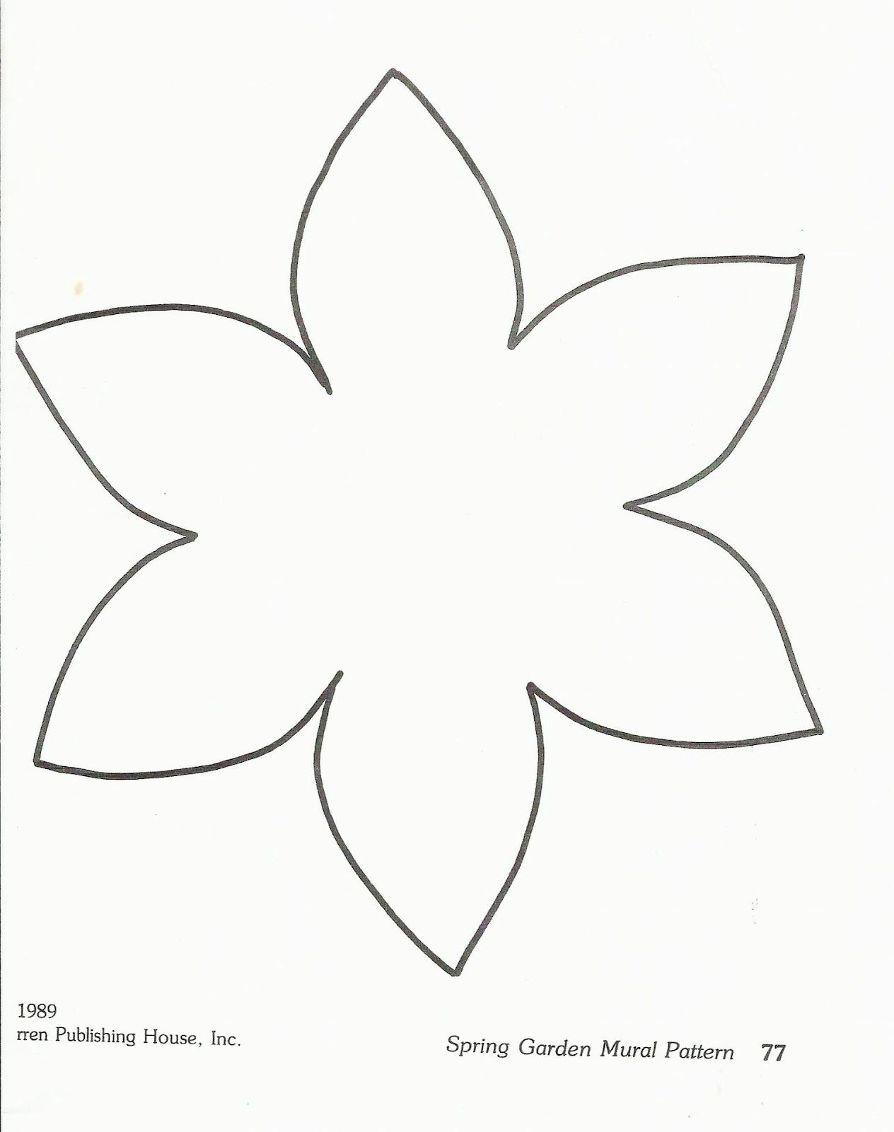 template of a daffodil flower template preschool http squishideasforpreschool