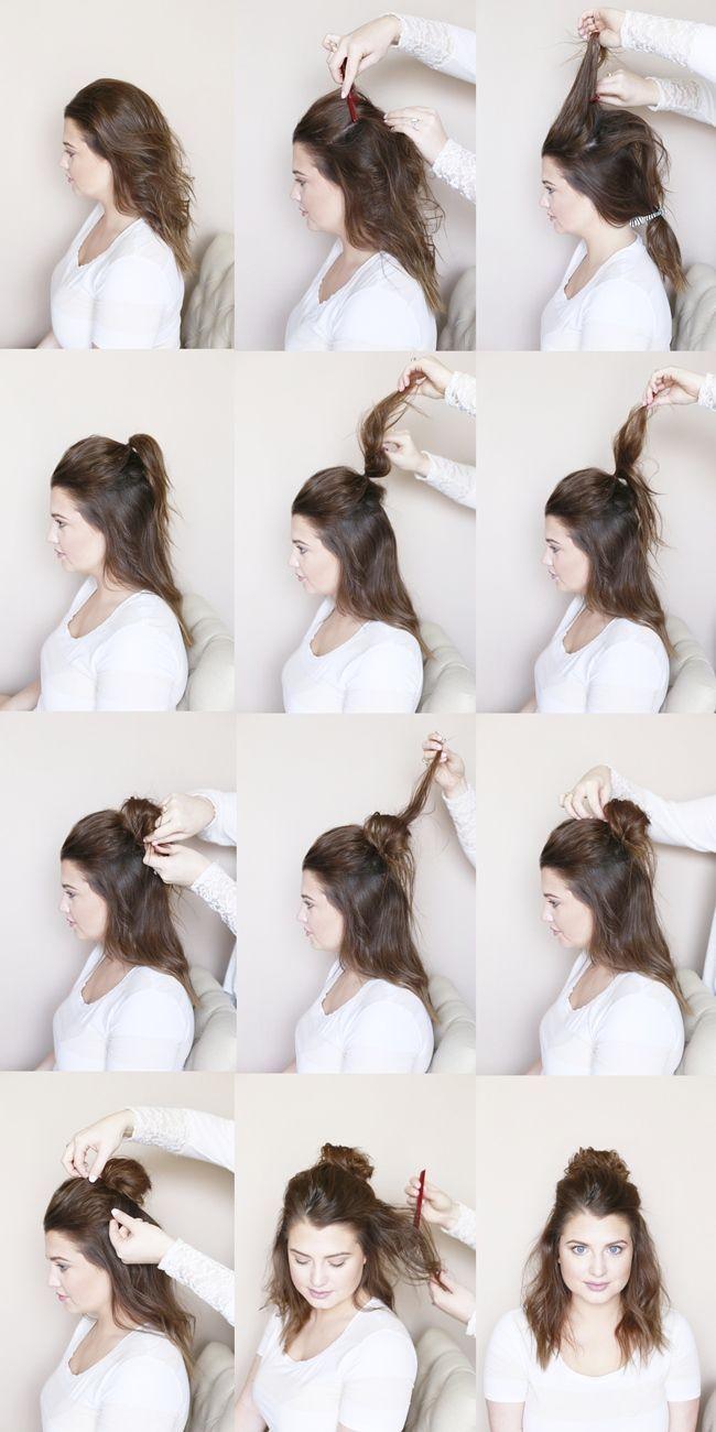 ▷ Was sind einige schöne Party Frisuren für langes Haar Schritt für Schritt… – Boda fotos