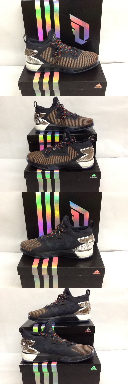 gli uomini 158971: pennino: adidas d lillard 2 impulso mm scarpe da basket dk