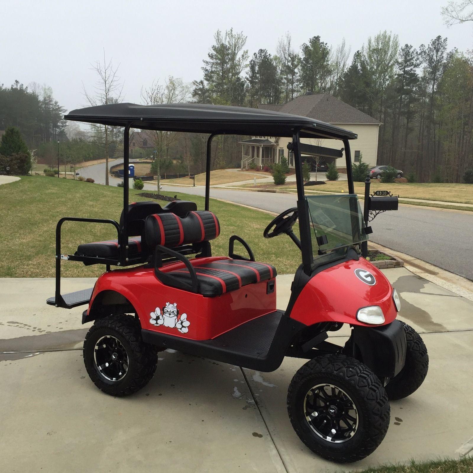 2008 EZGO Custom UGA 48 Volt Golf Cart Golf carts, Golf