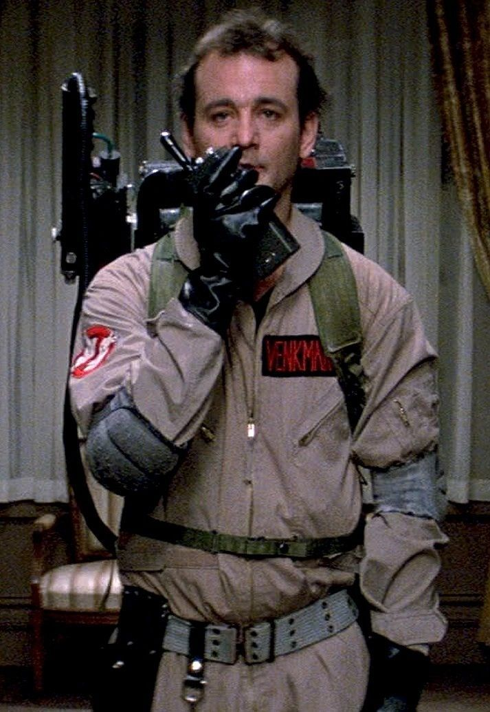 GhostbustersI think he can hear you Ray... Ghostbusters