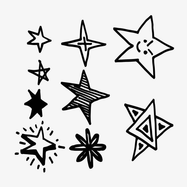 Hand Drawn Doodle Star Icon Vector And Png How To Draw Hands Free Vector Illustration Doodle Icon