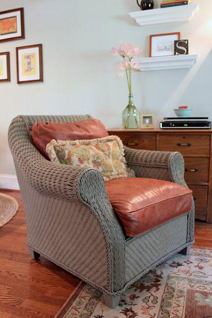Oak Ridge Revival ON A ROLL   Painting wicker furniture ...