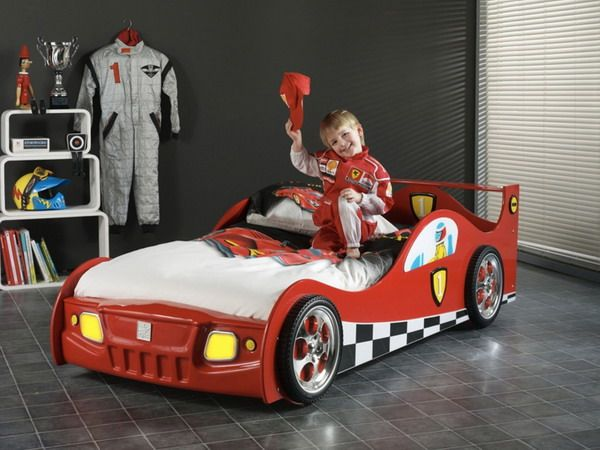25 Racing Car Beds For Children Rooms Kids Car Bed Car Bed Kid
