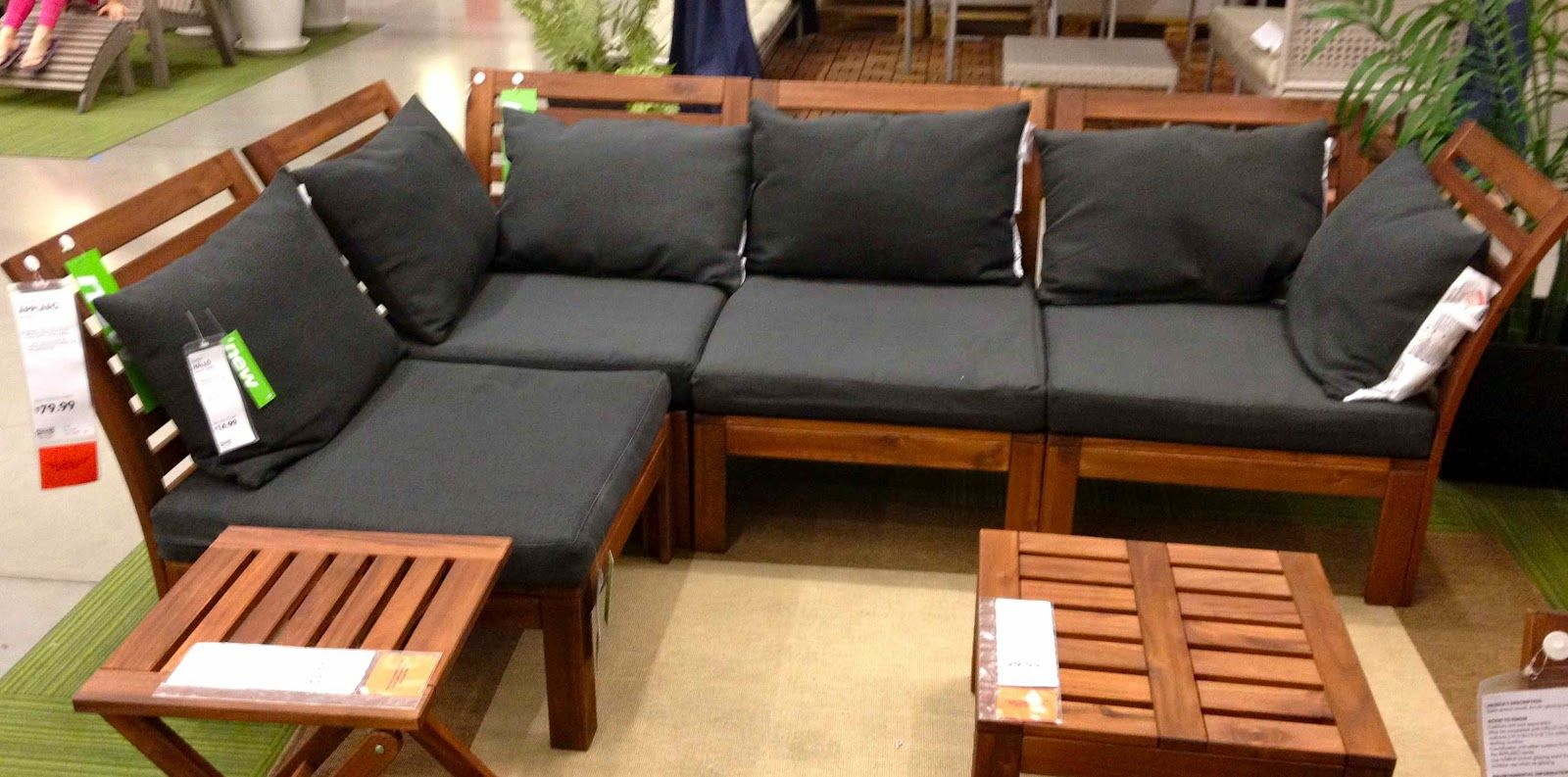 Shopping For Inexpensive Outdoor Sectionals Ikea Outdoor Ikea