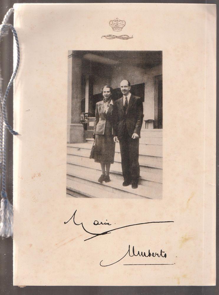 Calendario 1950.Dettagli Su Monarchia Calendario 1950 Reali Savoia L4949